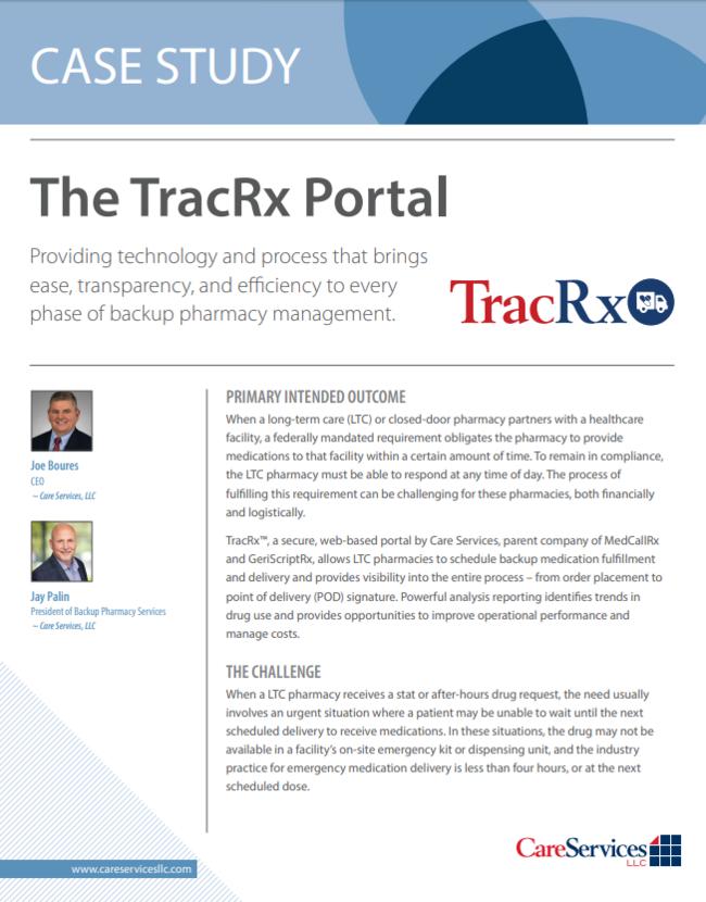 The TracRx Portal