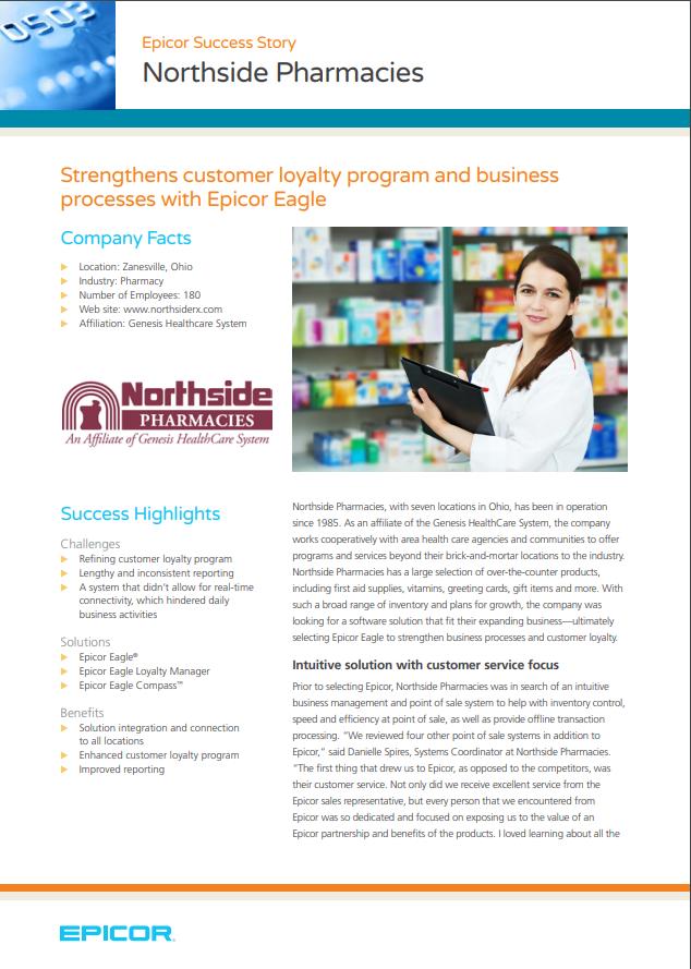 Epicor Success Story: Northside Pharmacies