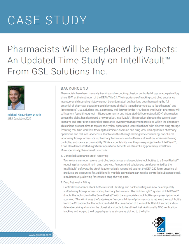 Pharmacists Will be Replaced by Robots