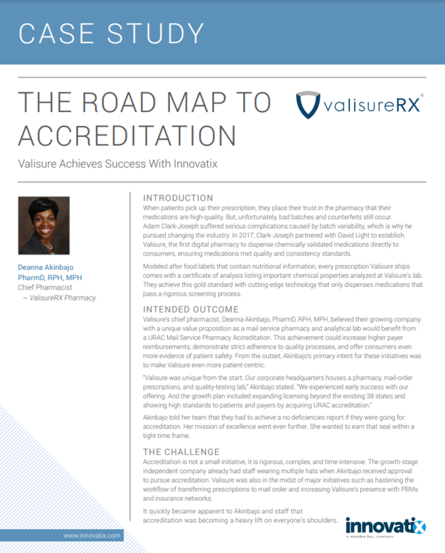 THE ROAD MAP TO ACCREDITATION