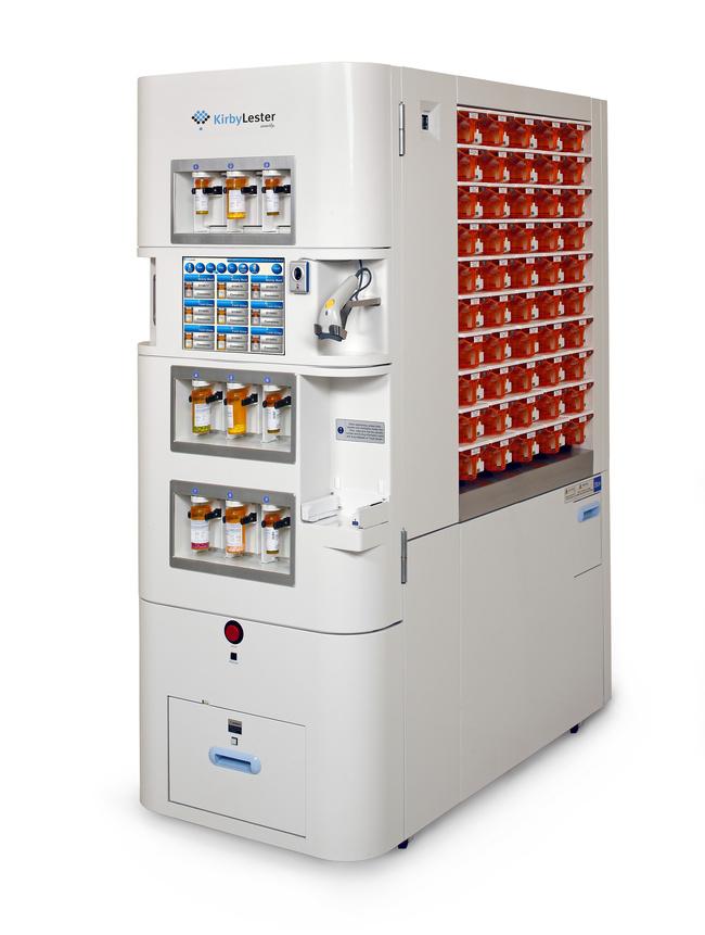 Kirby Lester S New Kl100 Pharmacy Robot Emphasizes Safety